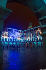 Feliz Año 2018 (cvielba) Tags: badajoz luces navidad nocturna plazaalta torre