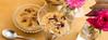 Rice puddings desserts. (annick vanderschelden) Tags: ricepudding brownish yellow cornstarch granola cranberry spoon glass bowl gerbera goji christmastree christmas wood lighteffect dessert raisin chia oatflakes sunflowerseeds maplesyrup rapeseedoil milletflakespumpkinseeds cashewnuts quinoa linseed puffedamaranth rose