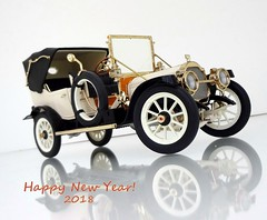 1912 Packard Victoria Model 1-48 Tourer (JCarnutz) Tags: 124scale diecast franklinmint 1912 packard