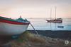 Plage du Stromboli (virgie.b) Tags: sicile sicilia sea sunset bateau stromboli