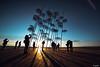Under my umbrella (joseee1985) Tags: umbrellas shadows blue 2017 nikon sunset yellow ultrawide thessaloniki silhouette d750 december17 14mm faces seaside