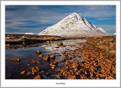 Winter Sunshine In Glencoe (flatfoot471) Tags: 2016 buachailleetivemor glencoe highlandsislands landscape march normal rivercoupall rural scotland stobdearg unitedkingdom winter