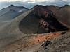 On the summit of Etna (grannie annie taggs) Tags: mountain mtetna sicily volcano crater walker nature