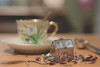 Margarete's TeaHouse (s@ssyl@ssy) Tags: tea infuser house home teacup vintage loosetea giftfromafriend
