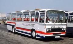 Gray Line, Edinburgh: BOA944K at Dover Ferry Terminal (Mega Anorak) Tags: bus coach aec reliance 6u3zr caetano grayline edinburgh dover