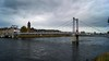 Inverness footbridge (WISEBUYS21) Tags: city inverness loch ness bridge victorian suspension river flood panorama church dark skies storm clouds scotland highlands wisebuys21 east coast culloden bonnie prince charlie cityscape deep water cold 14th october 2017 14102017