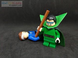 Lego Marvel Mole Man (Fantastic Four Villain) Minifig MOC DTB068