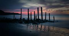 Port Willunga, South Australia: Sunset (Sharon Wills) Tags: sunset jetty ruins south australia australian port willunga fleurieu peninsula landscape landscapes seascape night sea ocean coast