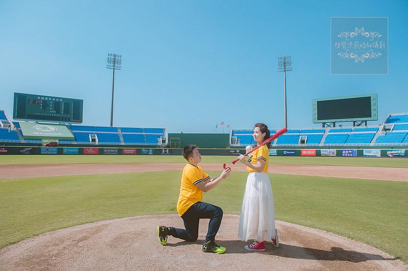 桃園,婚紗,棒球場,俏皮,運動風,攝影