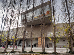 Roma - Museo MAXXI -  Zaha Hadid (albygent Alberto Gentile) Tags: arte architettura storiadellarte autunno inverno cielo sky riflesso zahahadid architecture building