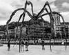 _DSF4872 (Antonio Balsera) Tags: bw bn bilbao araña estatua gente bilbo euskadi españa es