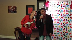 "Karaoke at a holiday party • <a style=""font-size:0.8em;"" href=""http://www.flickr.com/photos/131449174@N04/39114607251/"" target=""_blank"">View on Flickr</a>"