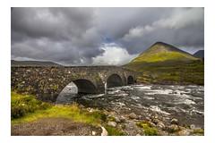 SLIGACHAN BRIDGE (champollion-10) Tags: bridge river scotland landscapes río puentes clouds nwn nubes stormy