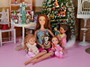 Xmas Teresa, Kelly and Friends dolls (modcasey) Tags: holliday teresa kelly friends around tree