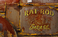 Rat Rod Grunge (jtr27) Tags: dsc02058e jtr27 sony alpha nex nex7 emount mirrorless sigma 60mm f28 dn dna dnart sigmaart international harvester pickup truck rust patina oxidation corrosion faded lettering custom maine pelhamnh nh newengland
