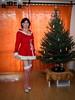 Merry Christmas Everyone! (blackietv) Tags: santa velvet velour dress red white romantic crossdresser tgirl transvestite crossdressing transgender christmas