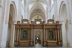Abbaye de Pontigny - Jubé (godran25) Tags: europe france bourgogne burgundy yonne pontigny citeaux cistercien cisterciens cistercians abbaye abbey église church abbatiale jubé