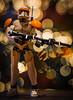 Into the fray (Gareth R O Dawes) Tags: clonecommandercody clone commander cody 75108 lego buildable
