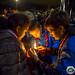 Lumière de béthléem à Lourdes