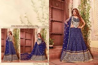 2652 Angel fancy fabric wedding wear lehenga choli