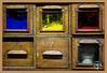 Les tiroirs à couleurs / Drawers for colors - Atelier d'Offard - Tours (christian_lemale) Tags: offard papier peint planche tours france nikon d7100 tiroir drawer couleur color
