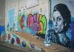 Women on Walls (Mr Baggins) Tags: streetart graffiti johannesburg jozi newtown ladyaiko page33