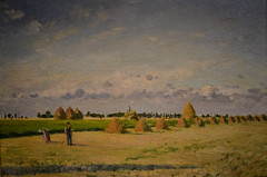 Camille Pissarro - Landscape Ile-de-France, 1873 at National Gallery of Art - Washington DC (mbell1975) Tags: washington districtofcolumbia unitedstates us camille pissarro landscape iledefrance 1873 national gallery art dc nga museum museo musée musee muzeum museu musum müze museet finearts fine arts gallerie beauxarts beaux galleria painting impression impressionist impressionism french