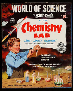Skil Craft Chemistry set --  1950s