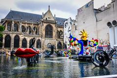 Stravinsky Fountain (Valdy71) Tags: parigi paris centre pompidou fontana stravinsky fountain valdy travel nikon france francia