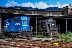 Mingo Monster (douglilly) Tags: c636 mingojunction conrail