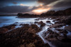 Looking for a Way (Augmented Reality Images (Getty Contributor)) Tags: portknockie longexposure coastline landscape leefilters waves scotland water storm clouds morayfirth canon cullen seascape rocks unitedkingdom gb