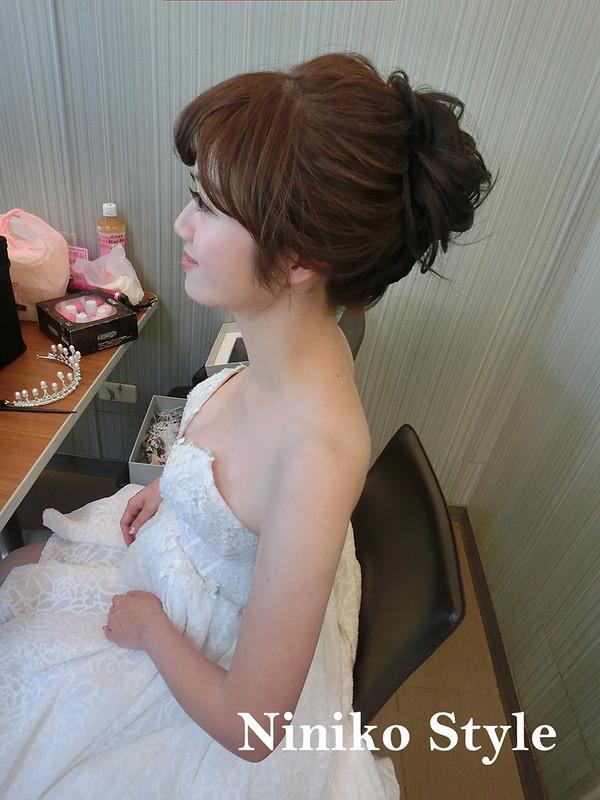 自助,婚紗,髮型,簡約浪漫,捧花,國小,七囍 studio