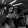 Lost (Jean-Marc Vernier) Tags: blackandwhite streetview streetphotography streetphotographer street metro urban city fujifilm fujixt20 portrait