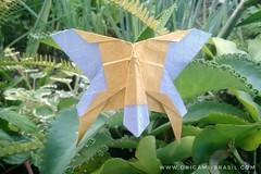 4/365 - Butterfly by Mindaugas Cesnavicius (origami_artist_diego) Tags: origami origamichallenge 365days 365origamichallenge butterfly paper paperfolding papiroflexia dobradura