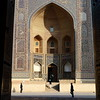 Mir-i-Arab madrasah (deus77) Tags: miriarab madrasah bukhara uzbekistan door islam travel architecture