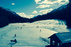Winter Blues (chrisroach) Tags: alberta banffnationalpark countries canada banff winter banffsprings skating blue ice cold