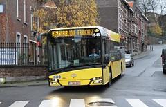 5545 35 (brossel 8260) Tags: belgique bus tec liege