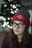 They're Good Photos, Brent (Carolyn Ryan*) Tags: portrait nikon d90 50mmf18d afd charlotte christmaslights glasses hat winter
