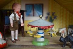Cardboard dolls' house with Lüftlmalerei (shero6820) Tags: old vintage antique toys dollshouse dollhouse puppenhaus puppenstube lüftlmalerei bavarian german cardboard caho erzgebirge handmade homemade