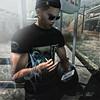 Smoking Break (αlpα в. vαɴ нell) Tags: smoken avatar sl mütze sun sonne handy break joint tattos