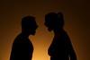 Prise de bec ! (leblondin) Tags: ombre contrejour corps couple nus lumiere light crier engueulade composition warmlight
