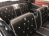 1968 Cadillac leather upholstery by Shamrock Auto Trim. (Shamrock Auto Trim) Tags: cadillac 1968 shamrock auto trim shamrocktrimcom seat upholstery leather suede convertible top carpet dash door panel black buttons logo restoration original classic north miami beach headliner cloth palm