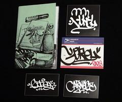 Gorey (Alex Ellison) Tags: gorey usps prioritymail label sticker zine carnagenyc 228 postallabel newyork usa nyc collection urban graffiti graff boobs curve tag