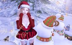 Merry Christmas (おはち(Hacchan Silverfall)) Tags: secondlife imp christmas