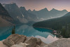Twilight (Andrew G Robertson) Tags: moraine banff national park canada louise reflection sunset sunrise dusk canon 5d mkiv mk4 alberta jasper haze lake glacier twilight waterscape mountain landscape