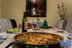 And so this was Christmas (Erwin van Maanen.) Tags: paella christmas kerst kerstmis navidad comer eten wijn vino wine erwinvanmaanen sonynex7 kroonenvanmaanenfotografie