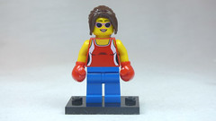 Brick Yourself Custom Lego Figure Foxy Boxing Lady