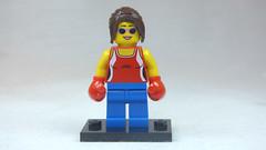 Brick Yourself Custom Lego Figure Foxy Boxing Lady