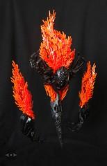 Kthuicn'vhaxr (▷Cezium◁) Tags: fire decinder flame monster creature bionicle lego moc lovecraft