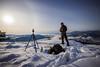 Christmas Eve Shenanigans (RTWBROOKES) Tags: sunrise halo sundog dog snow snowscape drone dji mavicpro canon nikon lakes hills britishcolumbia vernon okanagan